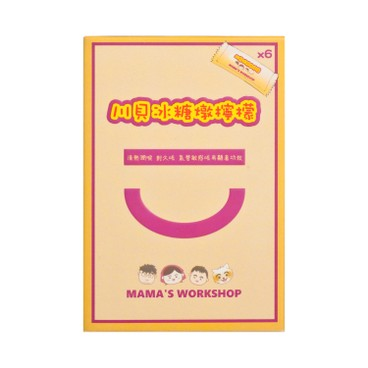 MAMA WORKSHOP - Lemon With Chuan Bei And Rock Sugar convenient Pack - 15GX6