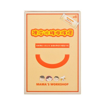 MAMA WORKSHOP - Lemon With Old Tangerine Peel And Rock Sugar convenient Pack - 15GX6