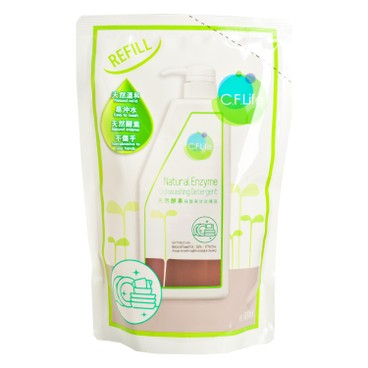 CF LIFE BY CHOI FUNG HONG - Natural Enzyme Dish Washing Detergent - 900ML