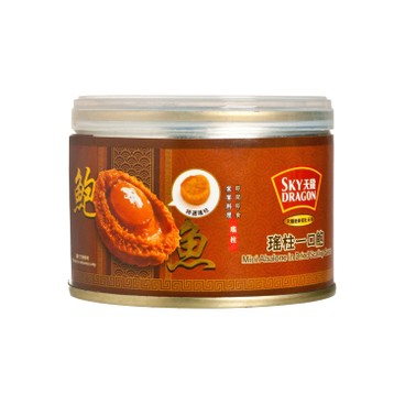 SKY DRAGON - Mini Abalone In Dried Scallop Sauce - 150G