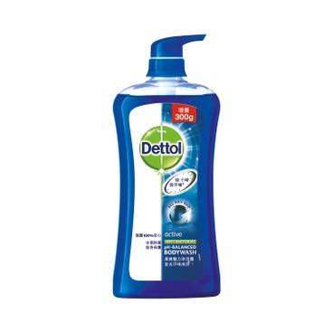DETTOL - Antibacterial Ph balanced Body Wash active - 950G