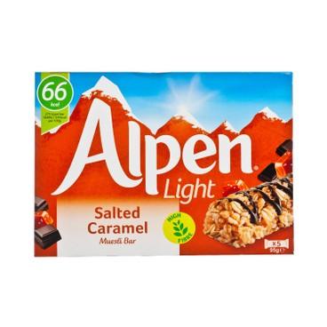 ALPEN - Light Cereal Bar Salted Caramel - 19GX5