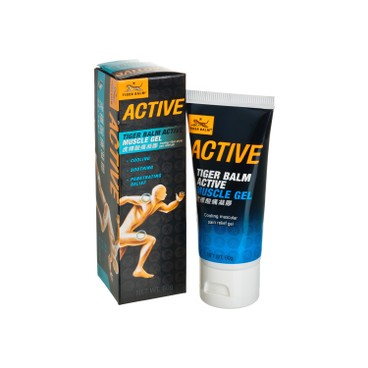 TIGER BALM - ACTIVE MUSCLE GEL - 60G