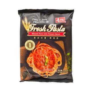 SAU TAO - Fresh Pasta Minced Pork With Tomato Sauce - 225G