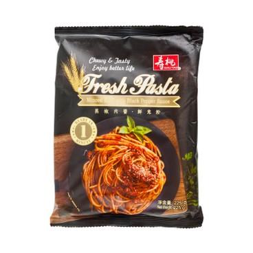 SAU TAO - Sau Tao Fresh Pasta Minced Pork With Black Pepper Sauce - 225G