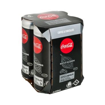 COCA-COLA - Batch Blends chocolate - 330MLX4