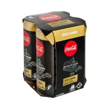 COCA-COLA - Batch Blends caramel - 330MLX4