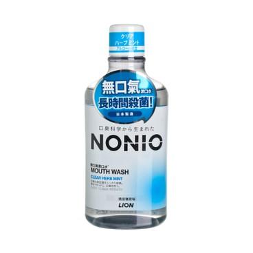 獅王NONIO - 無口氣漱口水 (清涼薄荷味) - 600ML