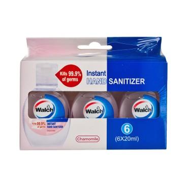 WALCH - Hand Sanitizer Chamomile - 20MLX6