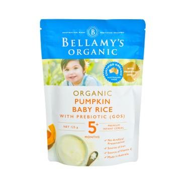 貝拉米 - 有機嬰兒南瓜益生元米糊 - 125G