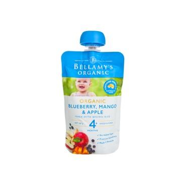 貝拉米 - 有機芒果藍莓蘋果泥 - 120G