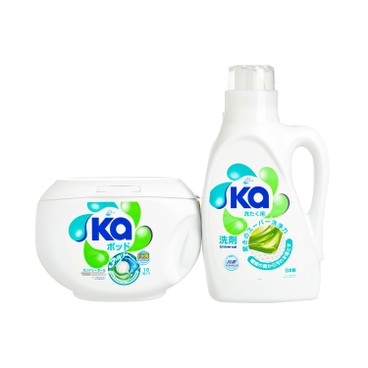KA - 3 In 1 laundry Capsules Laundry Detergent colour - 16'S+800ML