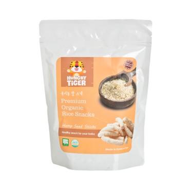 HUNGRY TIGER - 有機大麻籽玄米條 - 30G