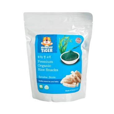 HUNGRY TIGER - 有機螺旋藻玄米條 - 30G