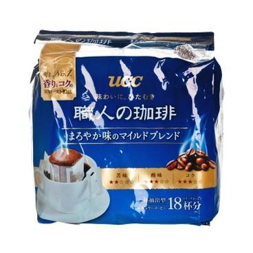 UCC - 職人滴漏式掛耳咖啡-香醇風味 - 7GX18