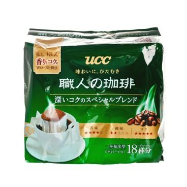UCC - 職人滴漏式掛耳咖啡-特濃 - 7GX18