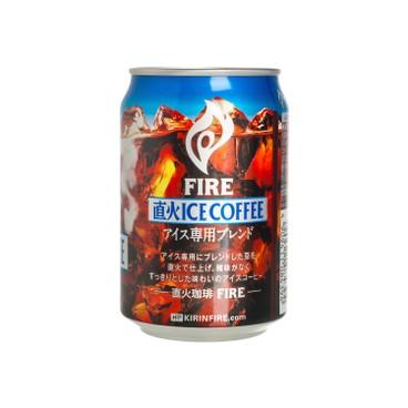 麒麟 - FIRE 直火微糖凍黑咖啡 - 280ML