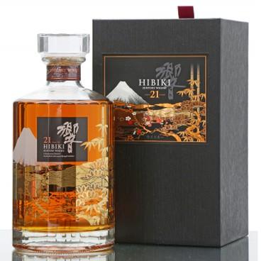 三得利 - 響21年威士忌-花鳥風月限量版 - 700ML