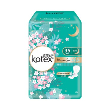 KOTEX - Blossom Spa White Tea Slim 35 cm - 8'S