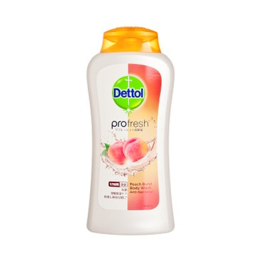 DETTOL - Profresh Peach Burst Body Wash - 250G