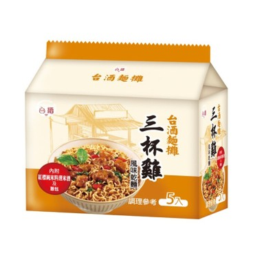 TTL - TAIWANESE THREE CUP CHICKEN STIRRED NOODLE - 105GX5