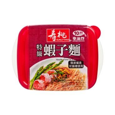 壽桃牌 - 特級蝦子麵-10個裝 (微波爐盒裝) - 454G