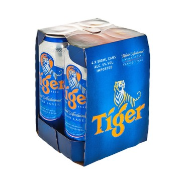 TIGER - Beer King Can - 500ML X 4