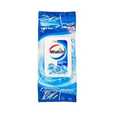 威露士 - 多用途家居表面消毒濕巾-水潤 - 100'S