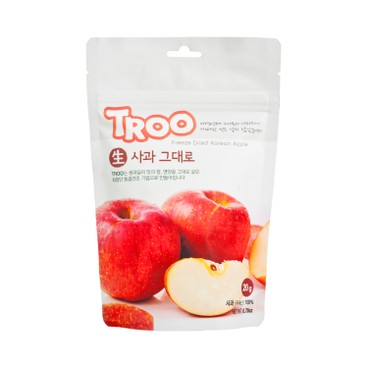 TROO - Korean Natural Freeze dried Fruit Apple - 16G