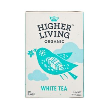 HIGHER LIVING - Organic White Tea - 35G