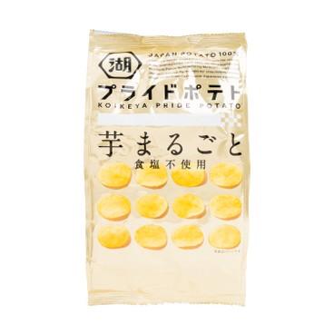 KOIKEYA 湖池屋 - 薯片-無鹽味 - 60G