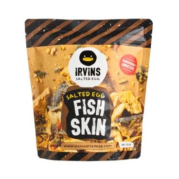 IRVINS - Salted Egg Fish Skin - 105G