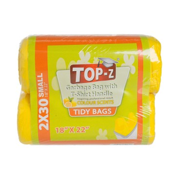 TOP-Z - 15L GARBAGE BAG - SMALL 18''X 22'' - 60'S