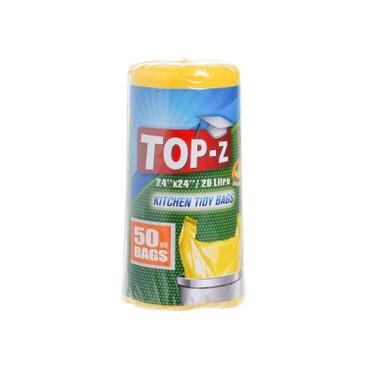 TOP-Z - 20L GARBAGE BAG - MEDIUM - 50'S
