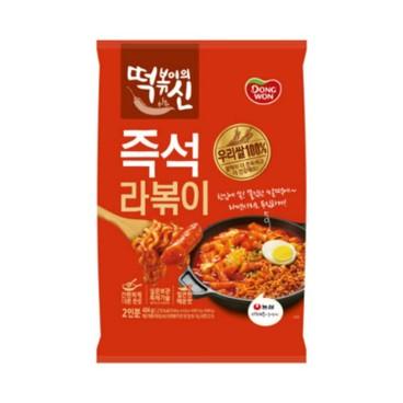 DONGWON - Stir fred Rice Cake Topokki With Ramen Noodles - 404G