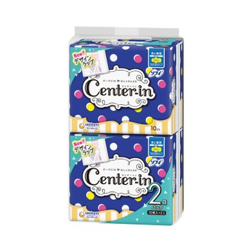 CENTER-IN - Center in Sanitary Pad 29 cm Twin Pack - 10'SX2