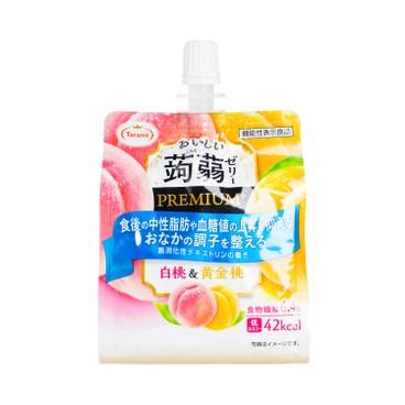 多良見 - 蒟蒻啫喱-白桃及黃金桃味 - 150G