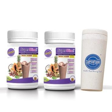 SUPERFOOD LAB - Superslim Protein Boost Fat Burning Set - SET