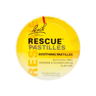 BACH RESCURE - Rescue Pastilles orange Elderflower - 50G