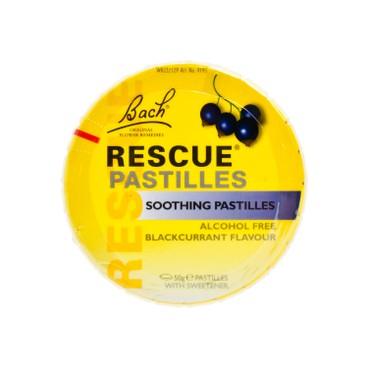 BACH RESCURE - Rescue Pastilles blackcurrant - 50G