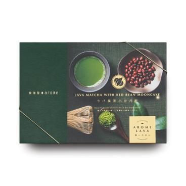 東海堂 - 月餅券-流心抺茶紅豆(六件裝) - PC