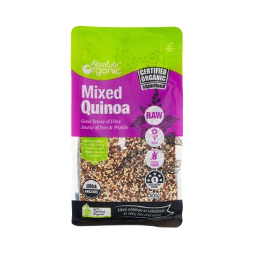ABSOLUTE ORGANICS - Mixed Quinoa - 400G