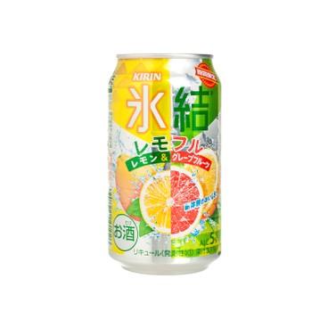 麒麟 - 冰結果汁汽酒-檸檬西柚 - 350ML
