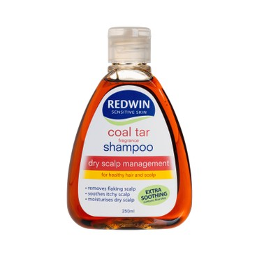 REDWIN - Coal Tar Shampoo - 250ML