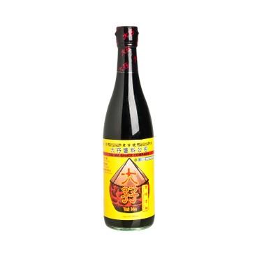 TAI MA - Double Deluxe Seasoned Soy Sauce - 500ML