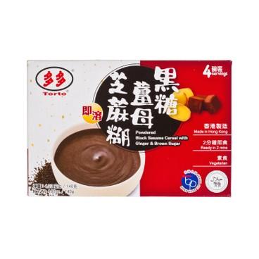 多多 - 即溶芝麻糊 - 黑糖薑母 - 140G