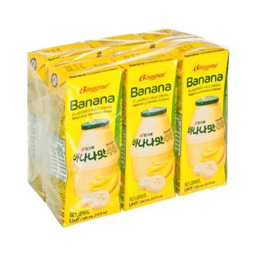 BINGGRAE - 香蕉味牛奶 - 200MLX6