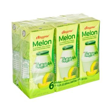 BINGGRAE - Melon Milk - 200MLX6