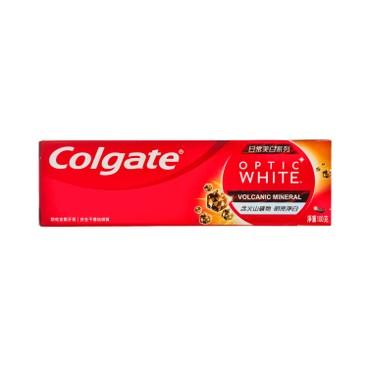 COLGATE - Optic White volcanic Toothpaste - 100G