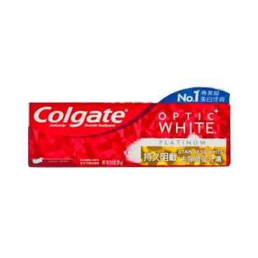 COLGATE - Optic White platinum Stainless Toothpaste - 85G